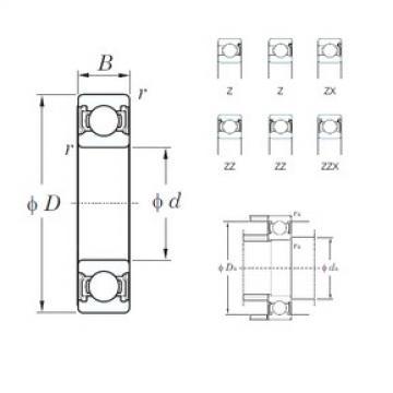 KOYO 6204Z deep groove ball bearings