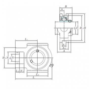 KOYO UCT212 bearing units